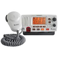 Cobra MRF57W CLASS D 25 WATT SUBMERSIBLE VHF MARINE RADIO CHECK And NOAA