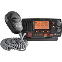 Cobra MRF57B CLASS D 25 WATT SUBMERSIBLE VHF MARINE RADIO CHECK And NOAA