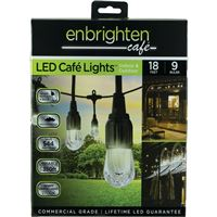 Enbrightenr 33307 Cafe Led Lights 18Ft