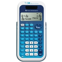 TEXAS INSTRUMENT TI34MV Ti-34Mv 4-Line Dual Pwr Fraction Calc