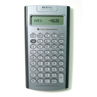 TEXAS INSTRUMENT TIBA2PROF Ti-Ba Ii 10 Digit Professional Financial