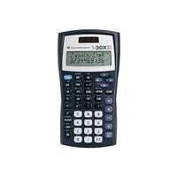 Texas Instruments Ti-30X-Iis Dual Power Scientific Calculator Black