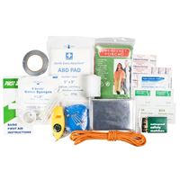Life Gear 41-3819 88Pc Quick Grab First Aid Survival Kit