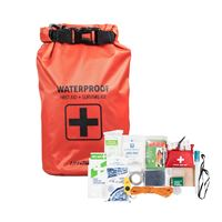 Life Gear 41-3820 130Pc First Aid Survival Kit And Dry Bag