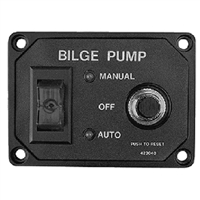 Sea-Dog Line 423040-1 Bilge Pump Switch Panel Brkr