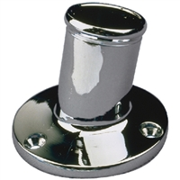 Sea-Dog Line 492213-1 Chrome Brass Pole Socket-1 1/4