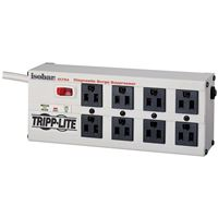 TRIPP LITE ISOBAR8 ULTRA ISOBAR SURGE PROTECTOR METAL 8 OUTLET 12FEET CORD 3840