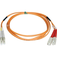 Tripp Lite N516-15M Fiber Patch Cable Optic Mode Conditioning 50/125 Lc/Sc 33Ft