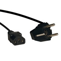Tripp-Lite P054-006 Tripp Lite 6ft IEC-320-C13 to SCHUKO CEE 7/7 Power Cable