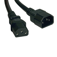 TRIPP LITE CABLES AND CONNECTI P004-004 4ft Computer Power Cord Extension Cable