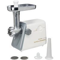 Panasonic-Small Appliances Mk-G20Nr-W Heavy Duty Meat Grinder Large Hopper