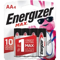 Energizer-Batteries E91Bp-4 Energizer Aa Alkaline Battery 4 Pack