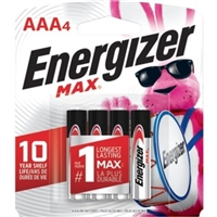 Energizer-Batteries E92Bp-4 Energizer Aaa Alkaline Battery 4 Pack