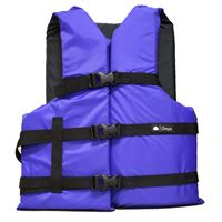 Onyx Outdoor 103000-500-004-12 Nylon General Purpose Life Jacket Adult