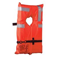 Kent Sporting Goods 100100-200-004-12 Type I Collar Style Life Jacket Adult