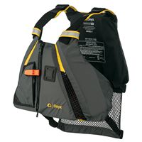 Onyx Outdoor 122200-300-040-18 Movement Dynamic Paddle Sports Vest Yello Grey