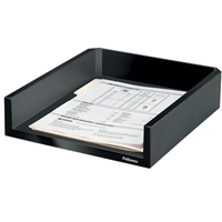 FELLOWES INC. 8038501 DESIGNER SUITES LETTER TRAY. HOLDS AND A4 SIZE PAPER.