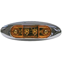 Anderson Marine V168XA Amber Led Clearance Light