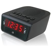 Dpi Inc/Gpx-Personal And Portable C224B Clock Radio Am/Fm Dual Alarm Wake To Or