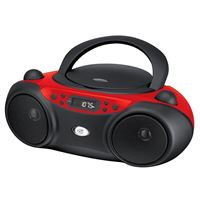 Dpiinc Bc232R Gpx Portable Topload Cd Boombox Amfm 3.5Mm Line In Mp3 Device