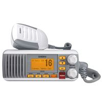 Uniden UM385 25 WATT FIXED MOUNT CLASS D SUBMERSIBLE VHF MARINE RADIO 4 DIGIT