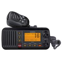 Uniden 2-Way Radio Um435Bk Fixed Mount Vhf Marine Submersible Class D Dsc Black