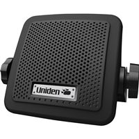 "Uniden BC7 7 WATT 3-1/2"" EXTERNAL CB/SCANNER SPEAKER 6' CORD RIGHT ANGLE 2.5MM"