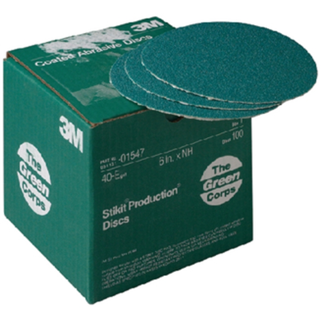 3M Marine 01547 40E 6In Stik-It-Green 100/Bx