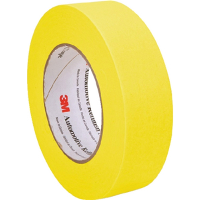 3M Marine 6653 Masking Tape 24Mm Yellow