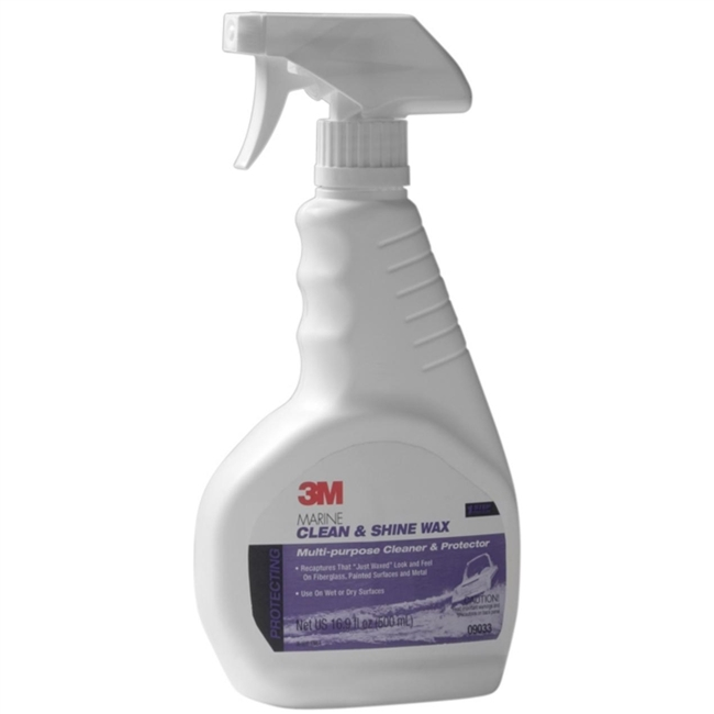 3M Marine 09033 One Step Clean And Shine Wax