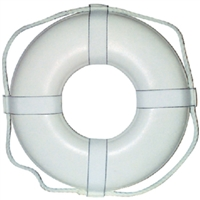 Cal-June GW-24 24 White Ring Buoy Straps
