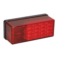 "Wesbar 407530 3"" X 8"" Waterproof Led 7-Function Right/Curbside Tail Light"
