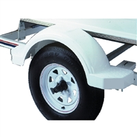 "Fulton Products 508574 Plastic Fender 14"" Top White"
