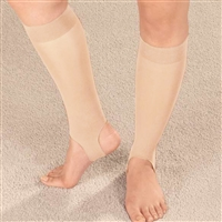 Drive Medical 1884 Ultra Thin Stirrup Compression Stockings Off White Small
