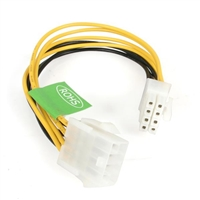 STARTECH.COM EPS8EXT THIS EPS 8 PIN POWER EXTENSION CABLE LETS YOU EXTEND THE