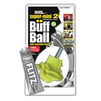 "Flitz Sm 10250-50 Buff Ball Super Mini 2"" White 1.76Oz Tube Polish"