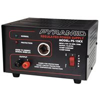 Pyramid PS15 10 AMP 12 SURGE POWER SUPPLY CIGARETTE SOCKET OVERLOAD PROTECTION