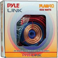 Pyler Plam40 20Ft/4 Gauge Amp Kit