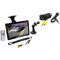 Pyle-Car Audio/Video Plcm7500 Backup Rearview Cam And Mntr Parking/Reverse