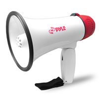 Pyle Pmp37Led Pro Megaphone/Bullhorn Siren And Led Lights 30Watts