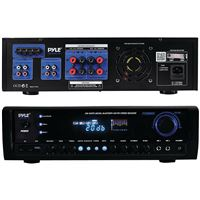 Pyle Pt390Btu Digital Home Theater Bt Stereo Receiver 2 Mic