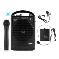Pyle Pwma1216Bm Portable Pa Speaker Amplifier And Mic System