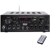 Pyle Homer Pta24Bt Cmpct Blth Audio Amp