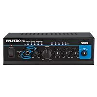 Pyle Audio Pta4 Mini 2X120 Watt Stereo Power Amplifier Aux/Cd Input