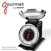 Gourmet By Starfritr 080211-003-0000 Mech Kitch Scale/Bwl