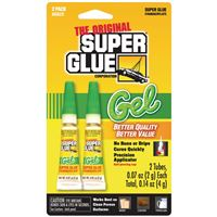 The Original Supergluer Sgg22-12 Thick Gel Super Glue-2 Pk