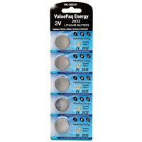 DANTONA INDUSTRIES VAL-2032-5 REPLACEMENT KEYLESS ENTRY REMOTE BATTERY