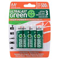 DANTONA INDUSTRIES ULGHP4AA 4 PACK AA HIGH-POWER CARDED REPLACEMENT HOUSEHOLD