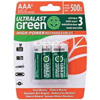 DANTONA INDUSTRIES ULGHP4AAA 4 PACK AAA HIGH-POWER CARDED REPLACEMENT HOUSEHOLD