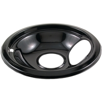 Stanco Metal Products 415-6 Blk Porcln Drip Pan 6In